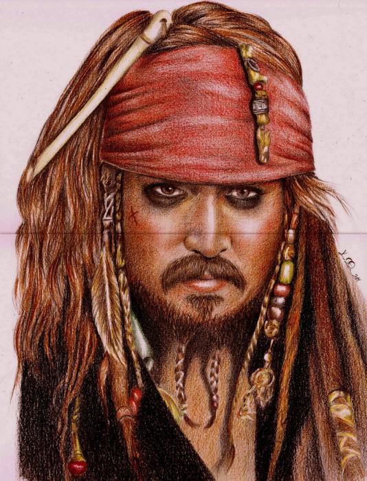 Johnny Depp by Ragazza